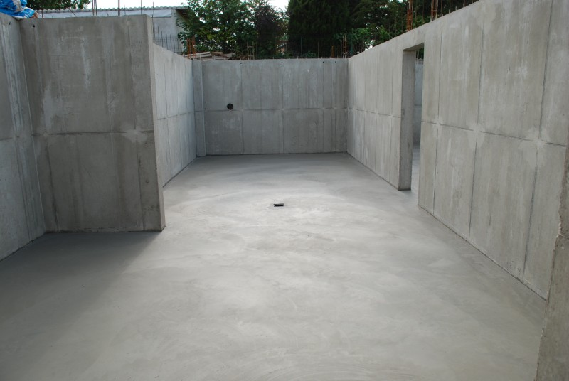Dallage au sol en béton armé - Obersaasheim